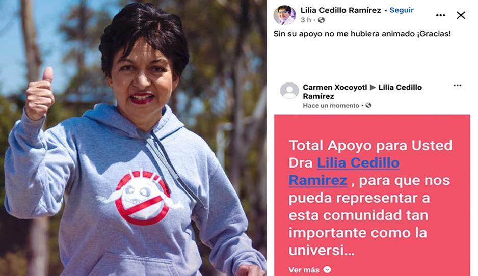 VIDEO: Lidia Cedillo agradece apoyo masivo de los universitarios tras destaparse para la rectoría de la BUAP