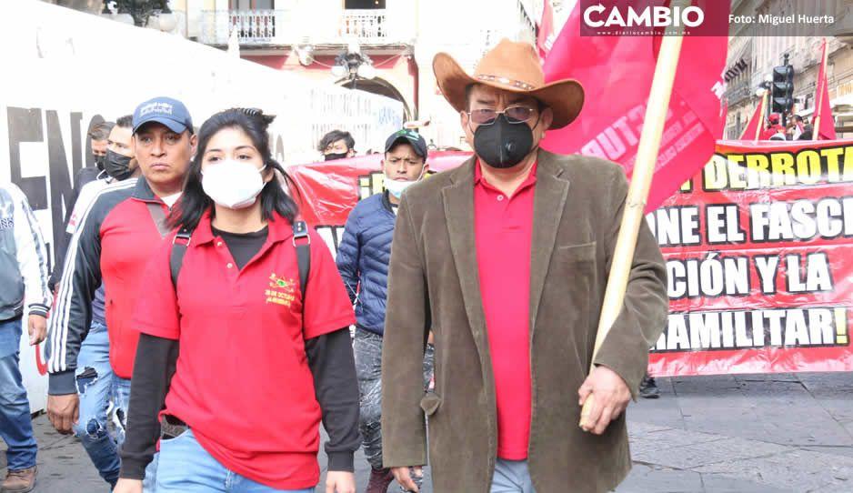 La 28 de Octubre duplicó sus agremiados con tolerancia de Claudia y René al ambulantaje (FOTOS)
