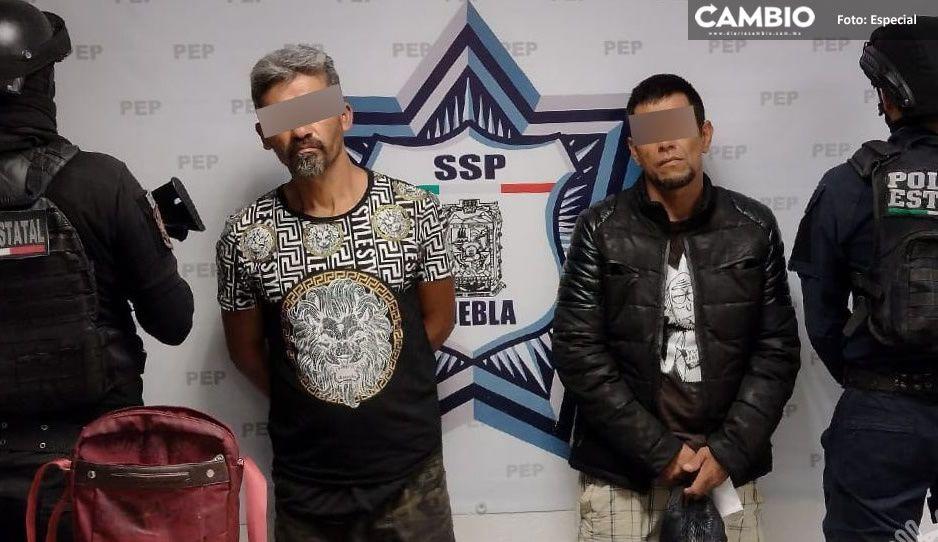 Detienen a dos narcomenudistas del Grillo en la federal a Tehuacán
