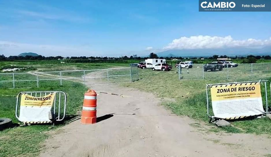 Ambulantes abandonan socavón de Juan C. Bonilla; ya nadie visita el lugar