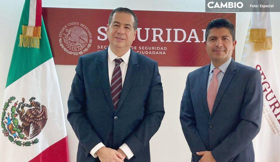Lalo se reúne con Ricardo Mejía, subsecretario de Seguridad Pública del Gobierno México