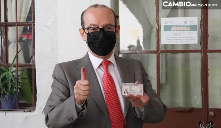 Asegura INE Puebla que consulta popular es un éxito gracias a la participación ciudadana