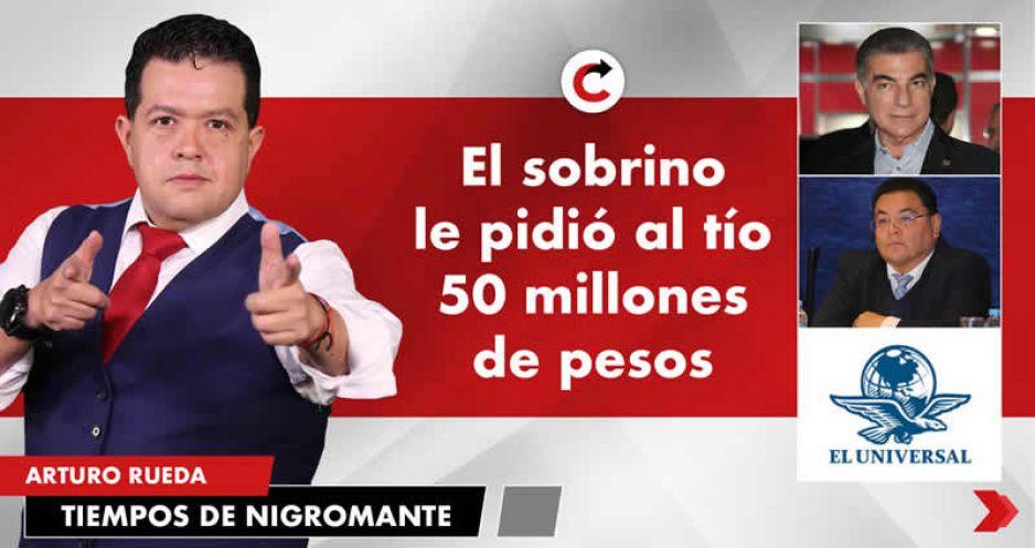 El sobrino le pidió al tío 50 millones de pesos