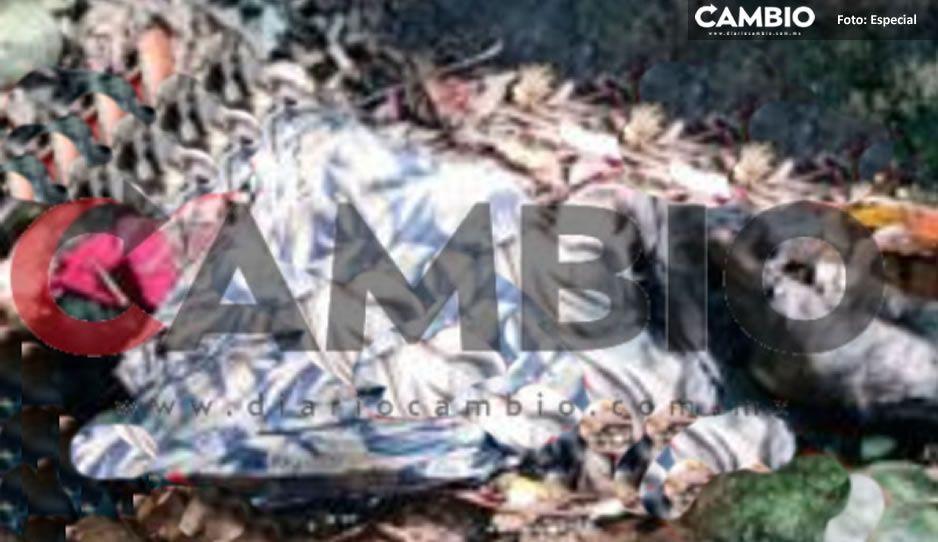 ¡De terror! Encuentran cadáver putrefacto de mujer en río Cuatotola en Huauchinango