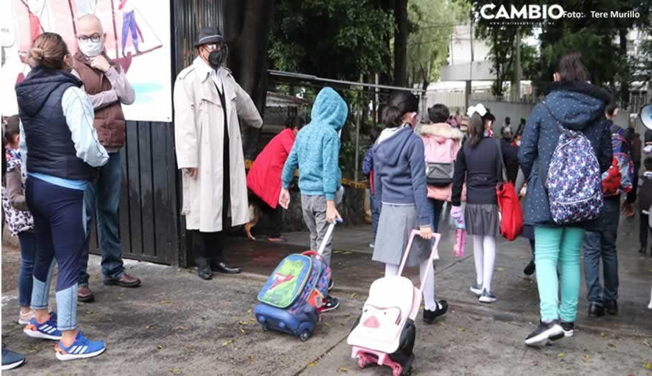 ¿Qué pasa si se descubre un caso Covid en escuelas de Puebla? Este es el protocolo a aplicar