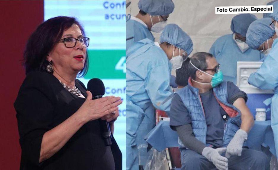 Miriam Veras Godoy renuncia como jefa de vacunación en México