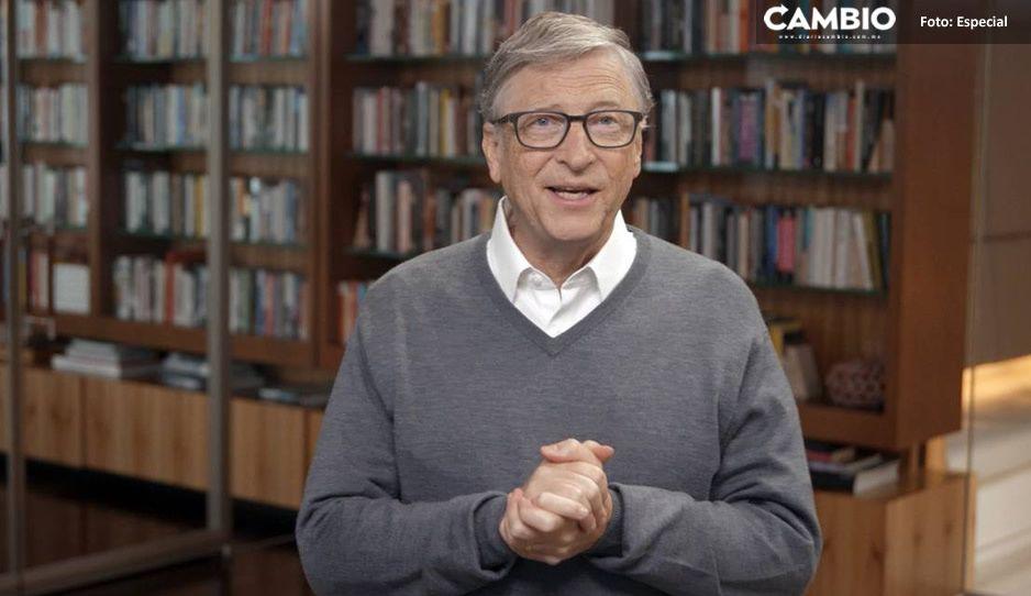 """Bill Gates aconseja a AMLO 'Invertir en educación, más importante que invertir en petróleo"""""""