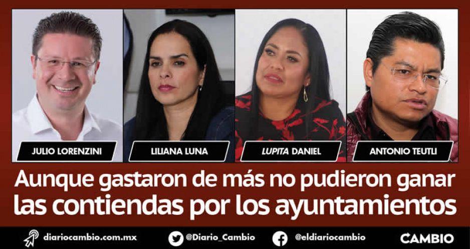 Ni así pudieron: candidatos de Morena rebasaron topes de gasto de campaña