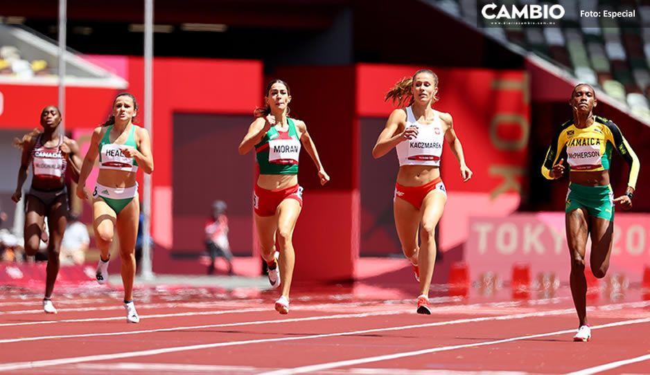 Mexicana Paola Moran califica a semifinales de 400 metros