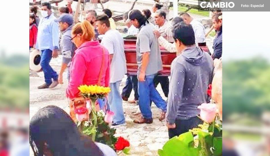 Sepultan a Jaime Pérez, líder cañero acribillado en Chietla