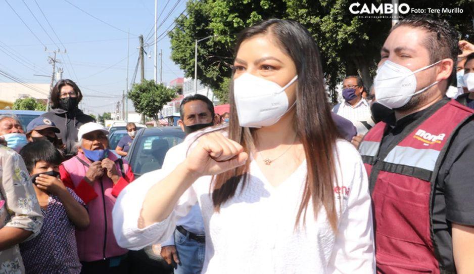 VIDEO: Claudia arranca en medio de reclamos ciudadanos por la inseguridad