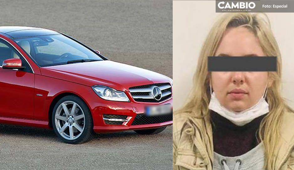 Influencer poblana tenía denuncia por robo de Mercedes Benz en Monterrey; contactaba a sus víctimas vía Facebook