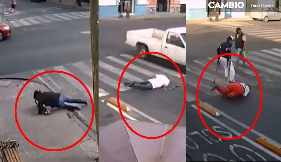 Por este VIDEO en la ciclopista de la muerte, los poblanos somos la burla nacional