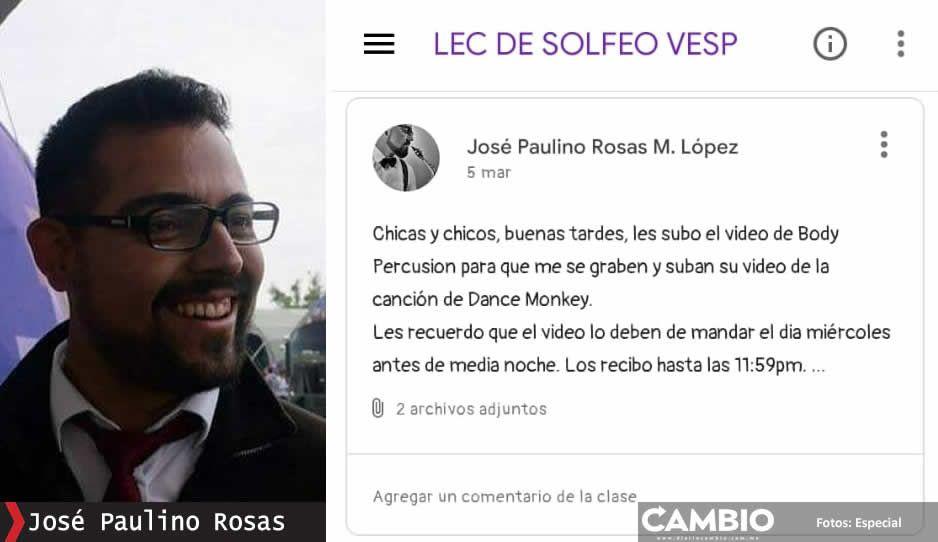 CENHCH se deslinda del profe acosador Juan Pa Figueroa pero oculta a Paulino y Cuatzil