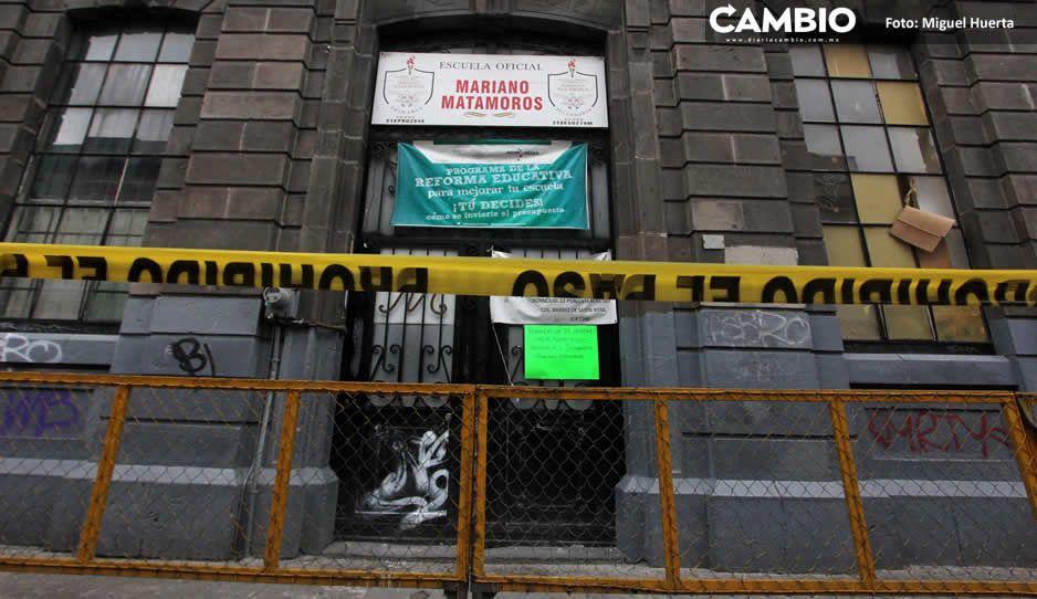 Dos mil escuelas públicas carecen de agua y de lavamanos en Puebla