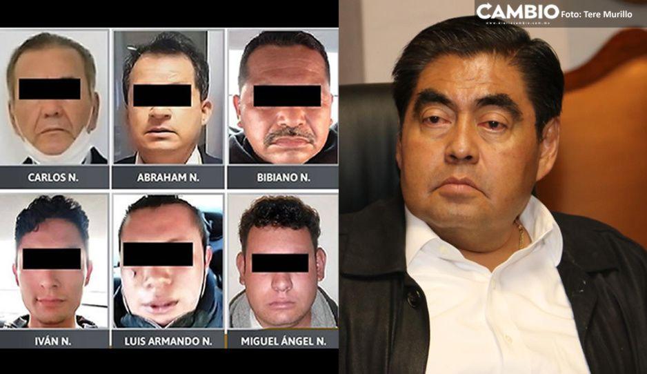 """Policías de """"La Hermandad"""" involucrados en fuga de reo en Hospital de Zacatlán: Barbosa"""
