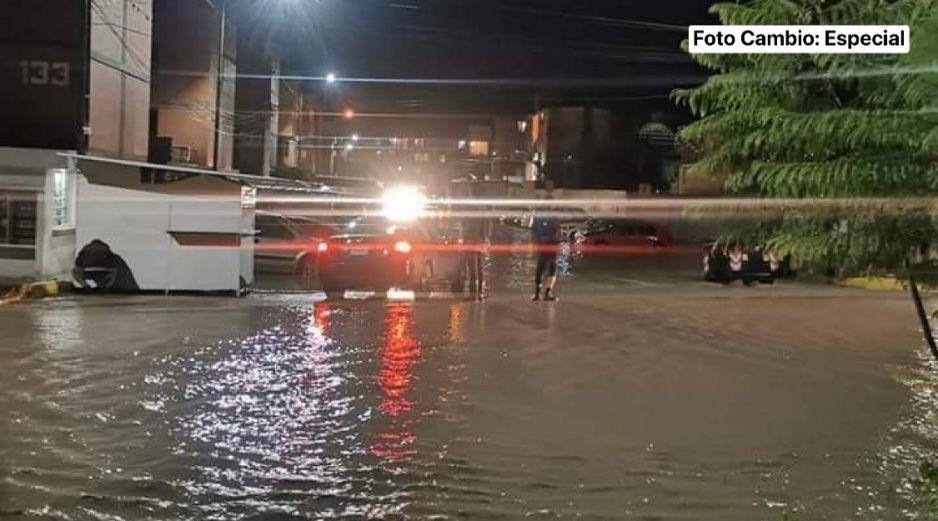 Se desborda Dren de Valsequillo e inunda viviendas en Tehuacán (FOTOS)