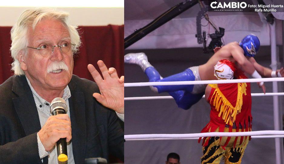 Glocknerada de llevar lucha libre al  Barroco fue una estupidez, recrimina Barbosa (VIDEO)