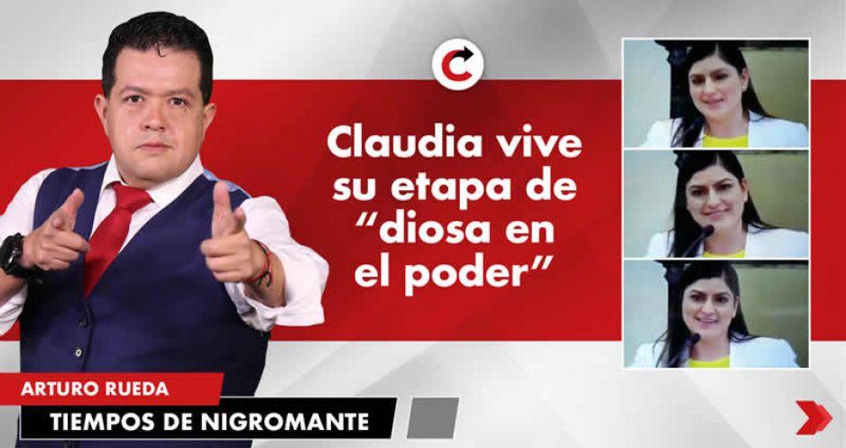 """Claudia vive su etapa de """"diosa en el poder"""""""