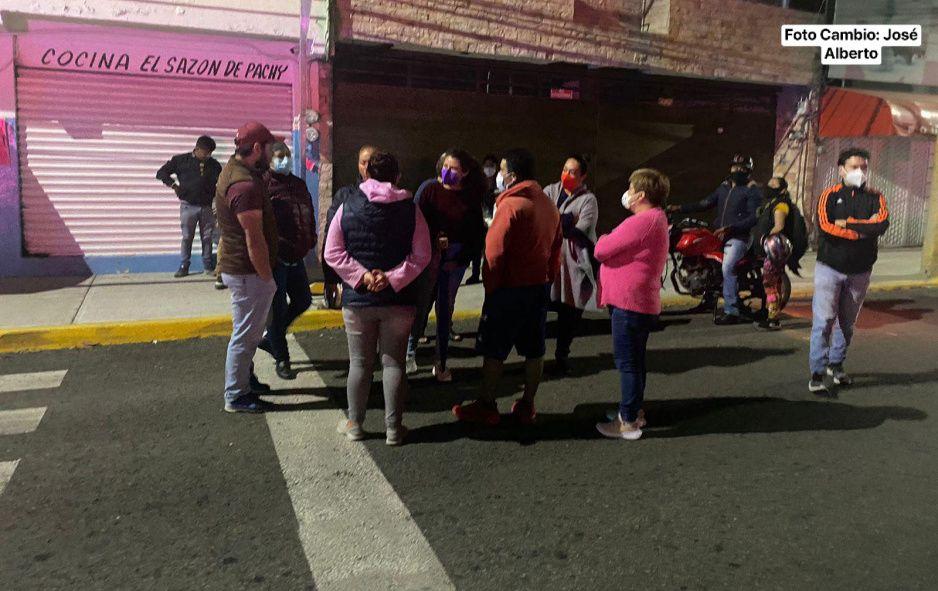 Rebelión en San Manuel: vecinos impiden la colocación de la ciclovía (VIDEOS)