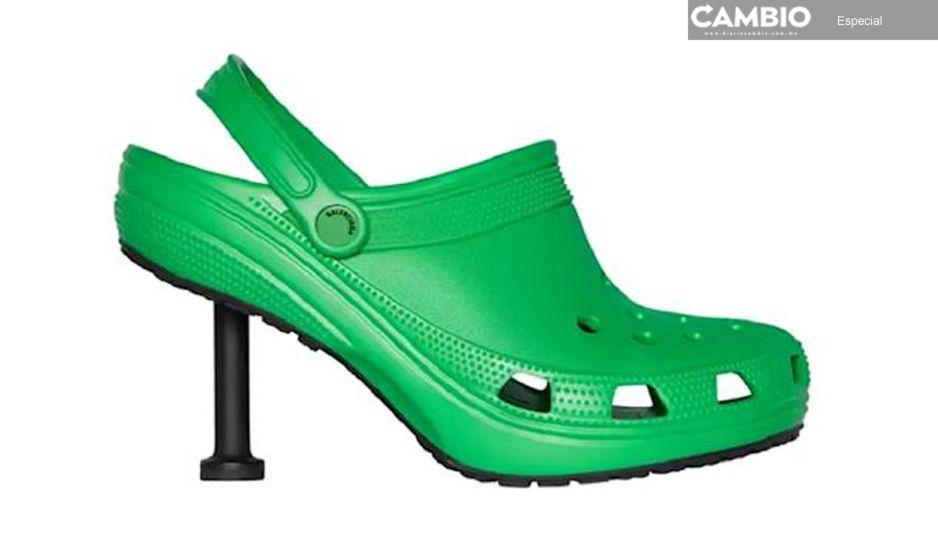 Balenciaga hace realidad los Crocs-Tacón… ¿te los pondrías?