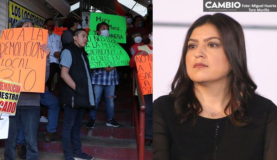 Remodelación del Mercado Amalucan se hará pese a oposición de locatarios (VIDEO)