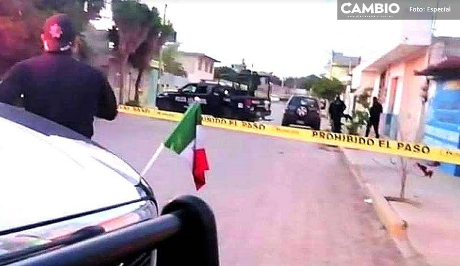 Lo balearon por que se resistió a un levantón en Tehuacán