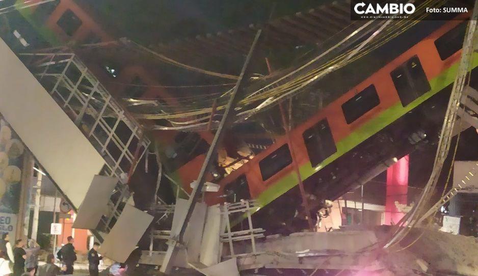 No es una película de acción, se desploma Metro de la CDMX (FOTOS y VIDEO)