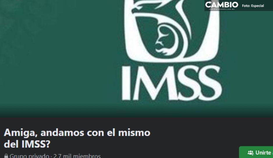 """¡Aguas, doctores infieles! Crean grupo para """"destapar"""" aventuras de personal del IMSS"""