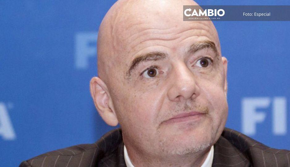 Presidente de la FIFA insiste en Mundial cada dos años; lo compara con Super Bowl
