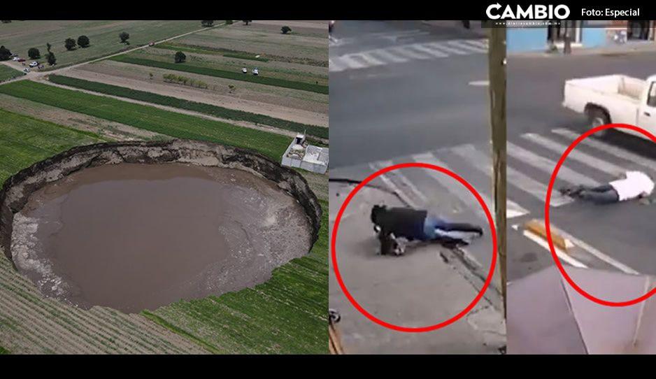 El socavón, la nueva atracción turística de Puebla ¡bye bye ciclovía de la muerte!