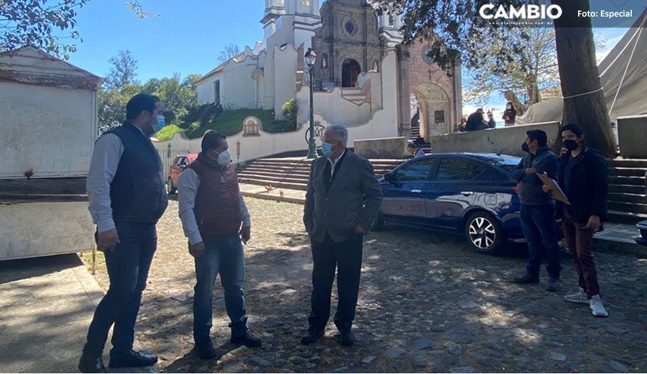 Carlos Peredo inicia obras de mantenimiento en emblemático barrio del Carmen