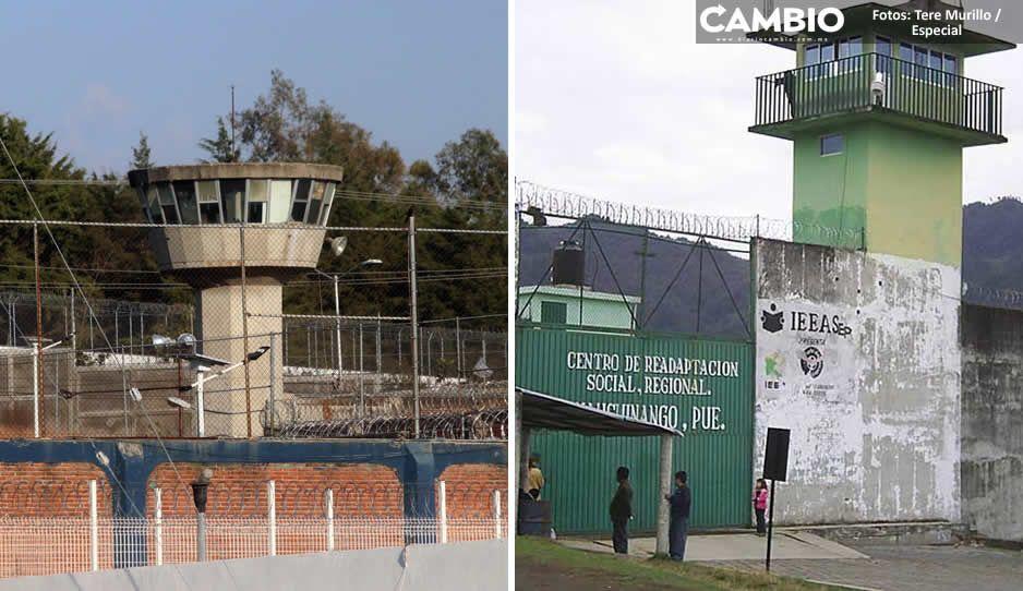 Puebla tiene 13 reclusorios, pero apenas tres cuentan con cámaras de vigilancia (FOTOS)