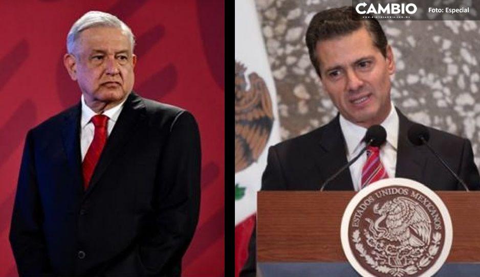 Para eso es la consulta: AMLO pide considerar espionaje de Peña Nieto el 1 de agosto