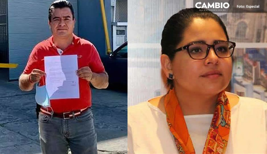 Carlos Barragán estalla berrinche por la derrota en Xicotepec; Lupita Vargas gana por 345 votos