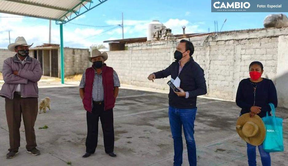 Ignacio Mier Bañuelos refuerza su compromiso con Tecamachalco