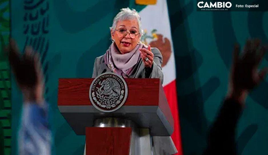 Me siento muy cómoda en las mañaneras de AMLO: Sánchez Cordero