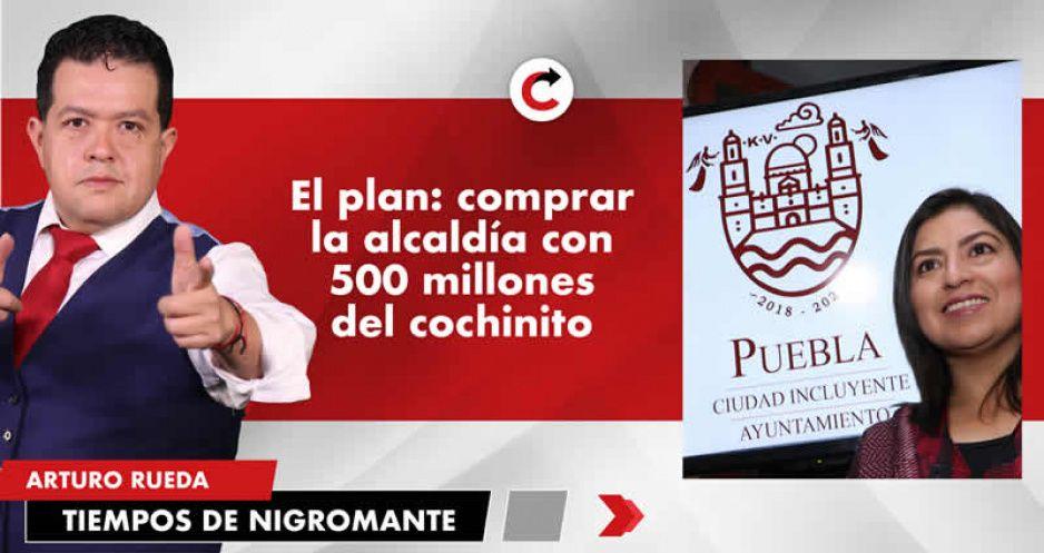 El plan: comprar la alcaldía con 500 millones del cochinito