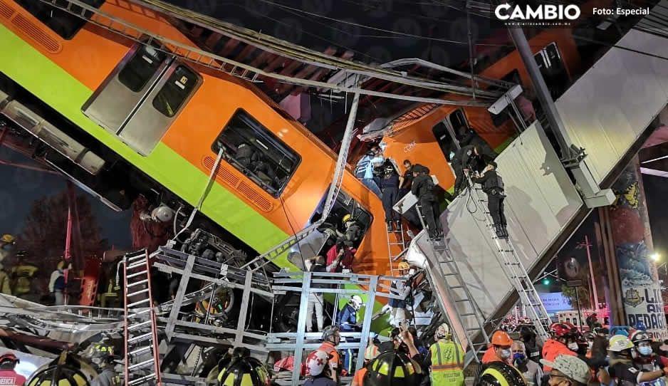 15 muertos y cerca de 70 heridos deja desplome de la Línea 12 del Metro: Gobierno de CDMX