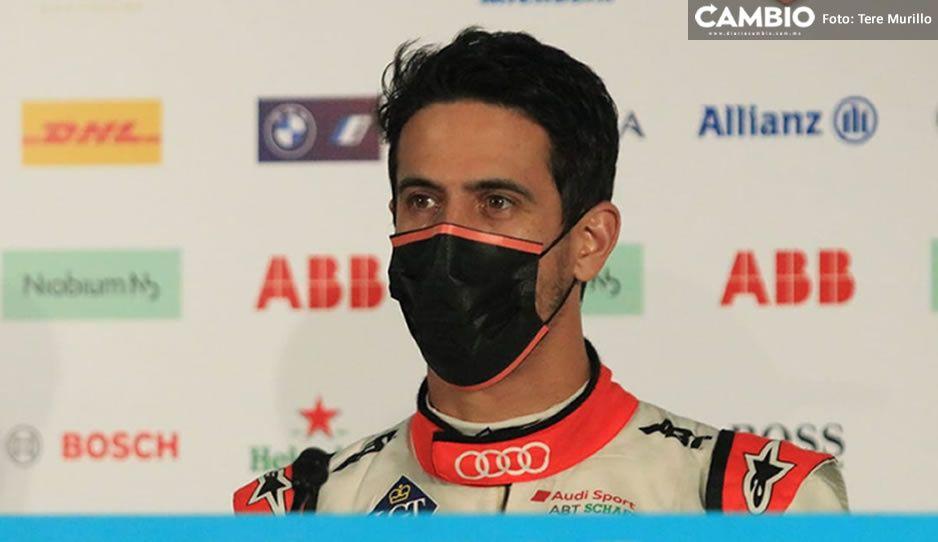 Los mexicanos son sensacionales: Lucas di Grassi a aficionados tras su triunfo en E Prix de Puebla