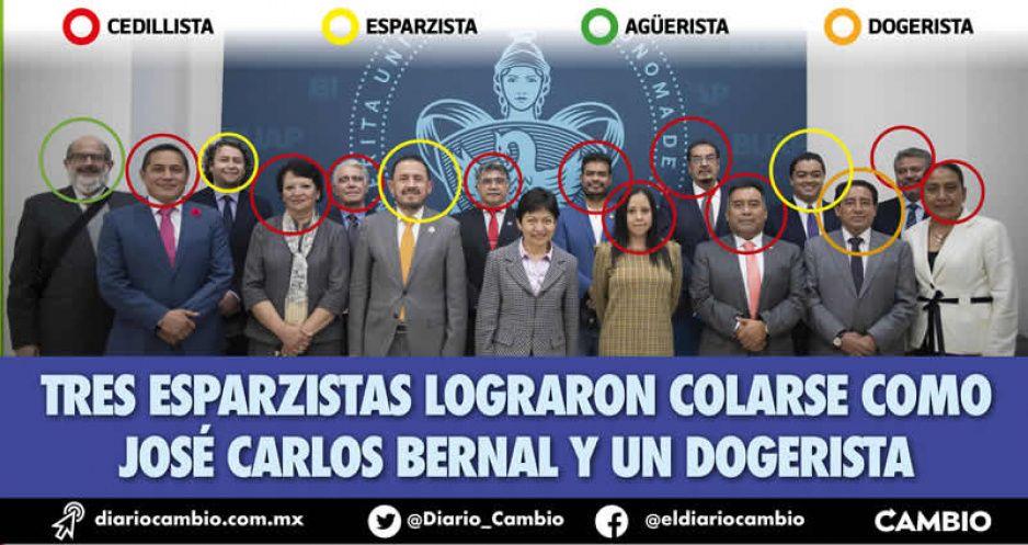 Lilia Cedillo reparte cargos a todos los grupos en la BUAP: regresa el agüerismo y empodera a su grupo compacto