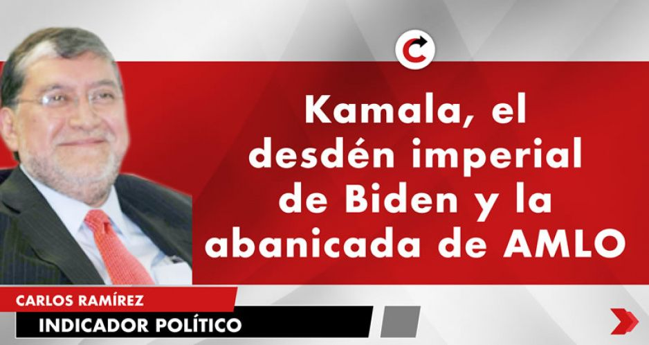Kamala, el desdén imperial de Biden y la abanicada de AMLO