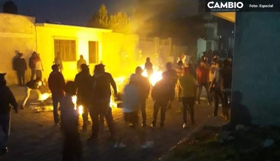 ¡Arde Acatzingo! Queman boletas electorales; exigen repetir elecciones (VIDEO)