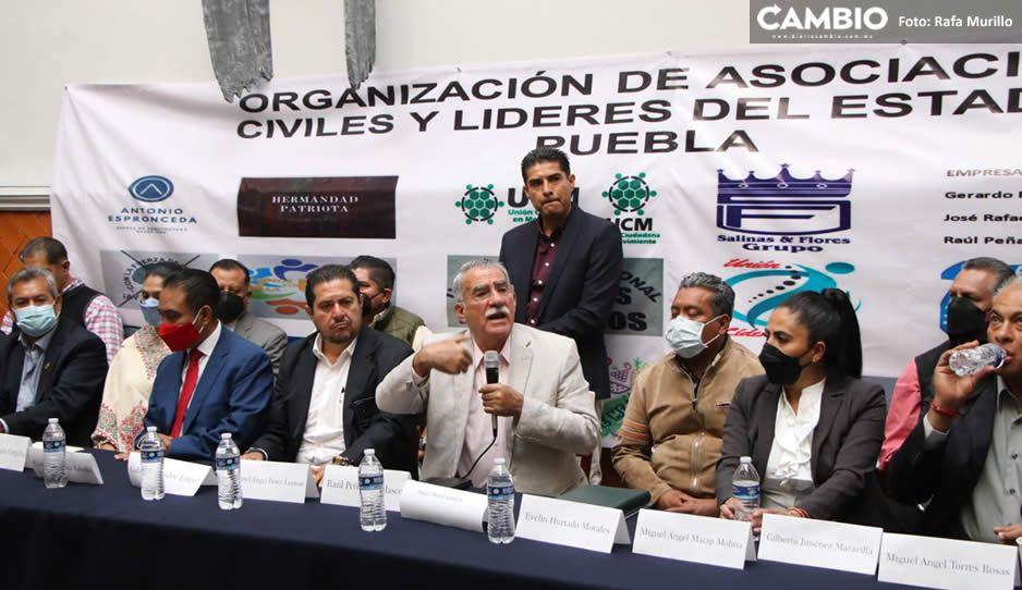 Paco Fraile encabeza la resistencia de organizaciones y líderes que piden reactivar la economía