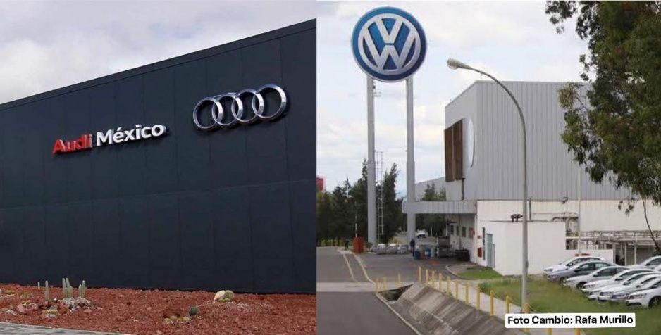Audi se va a paro para evitar contagios ¿y Volkswagen cuándo?