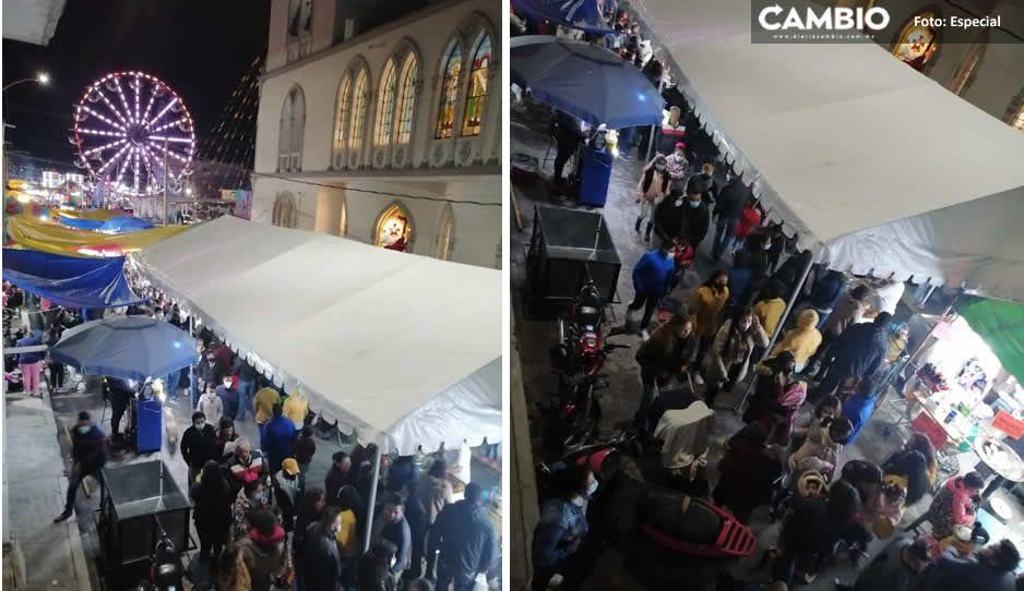 Angélica Alvarado se hace de la vista gorda; ambulantes desbordan festejos de la Virgen de El Carmen