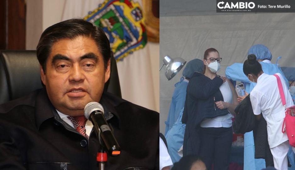 Cárcel para quien venda vacunas falsas vs el COVID, advierte Barbosa