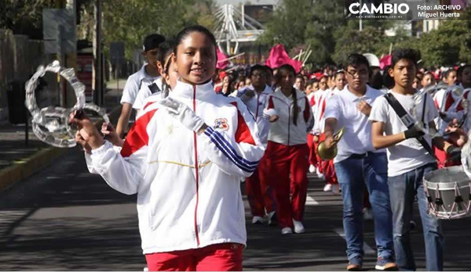 SEP cancela ceremonias y desfiles patrios en escuelas poblanas para evitar brotes de Covid