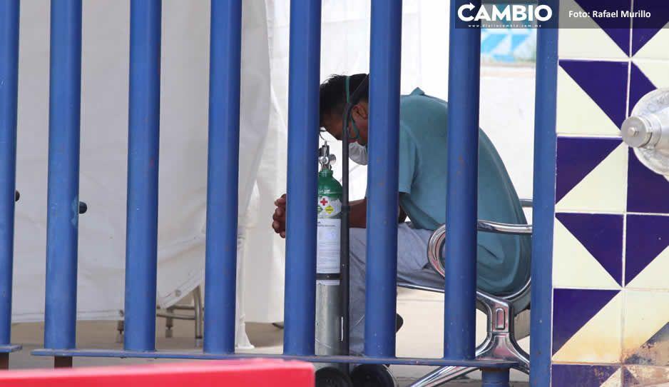 Puebla acumula 112 mil contagios y 14 mil 408 fallecidos por COVID-19