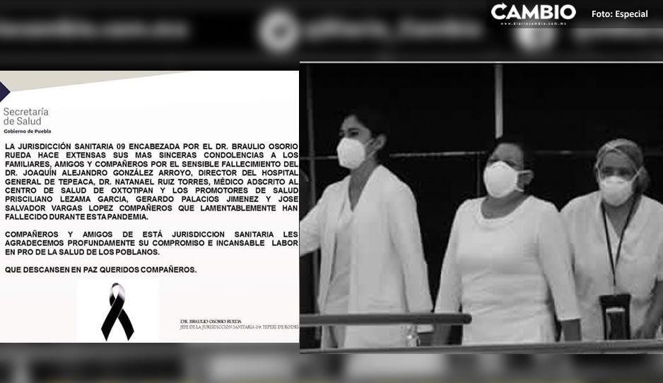 SSA da el pésame por la muerte de cinco miembros del Ejército Blanco en la Jurisdicción de Tepexi